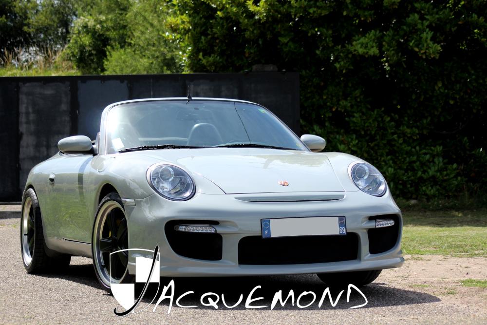 Jacquemond Porsche 996 body kit, wings, spoiler