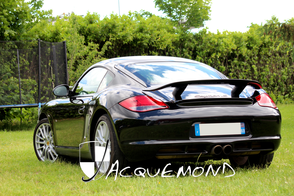 Rear wing spoiler for Porsche Cayman 987 Jacquemond