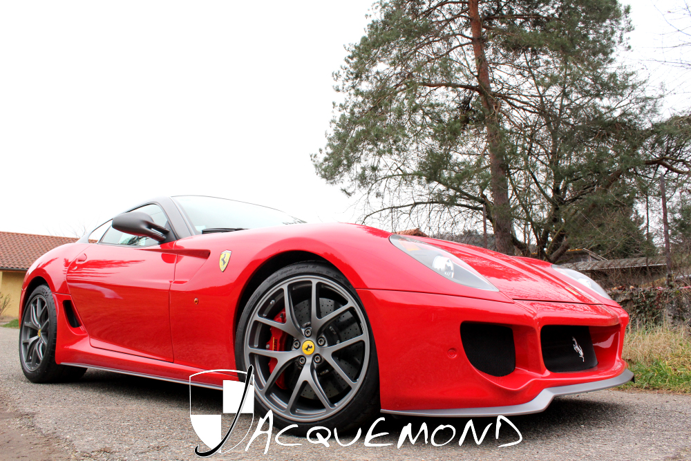 body kit GTO for Ferrari 599 Jacquemond
