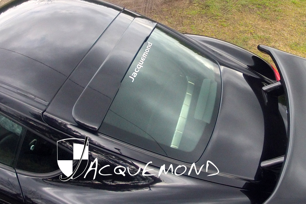 roof spoiler for Porsche 987 Cayman by Jacquemond