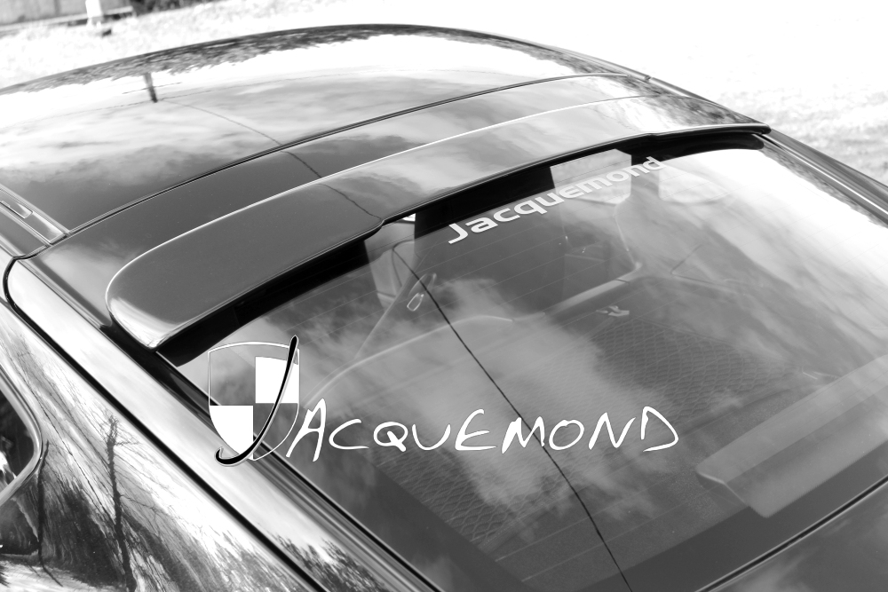 roof spoiler for Porsche 987 Cayman mk1, Mk2 by Jacquemond