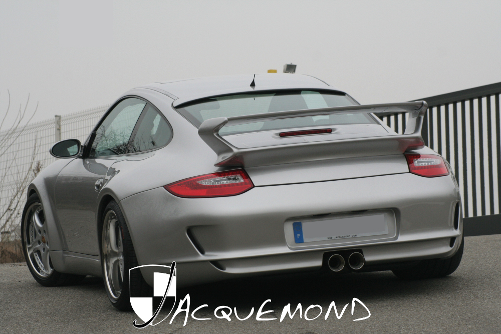 wide body kit for Porsche 996 Mk1 Mk2 997 style by Jacquemond