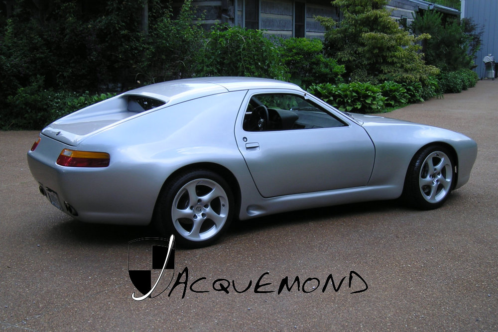 Porsche 928 : wide body set by Jacquemond
