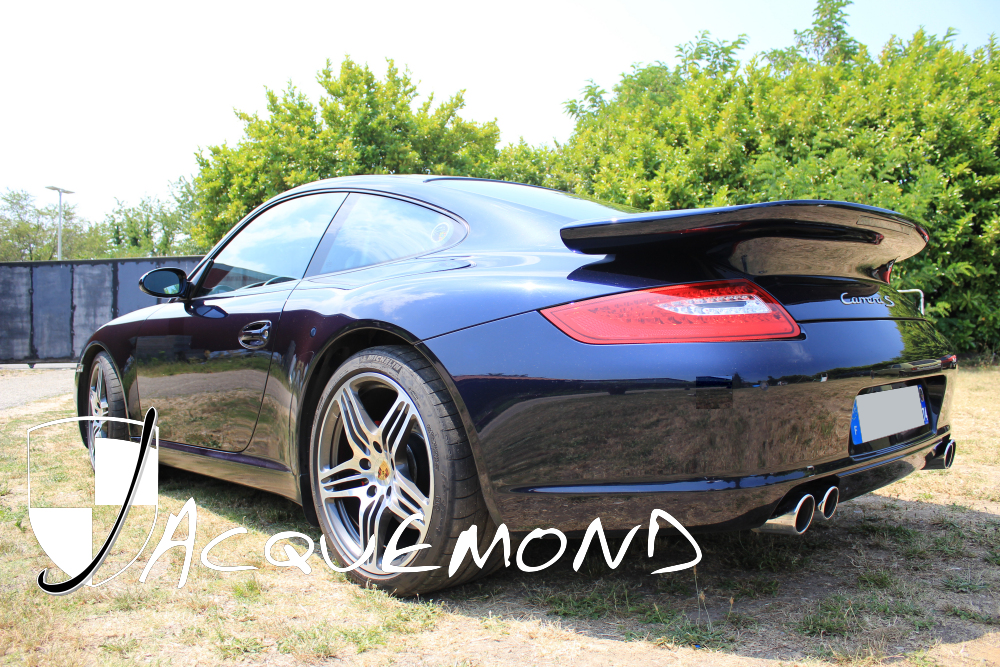 rear wing spoiler for Porsche 997 Mk1, Mk2 by Jacquemond