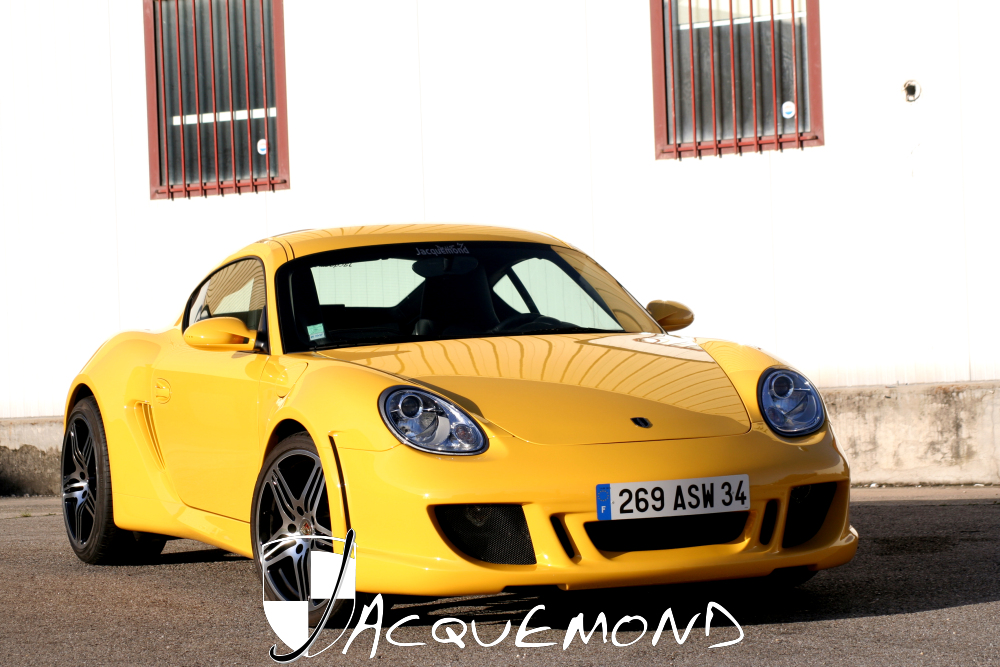 wide body kit for Porsche Cayman 987 by Jacquemond