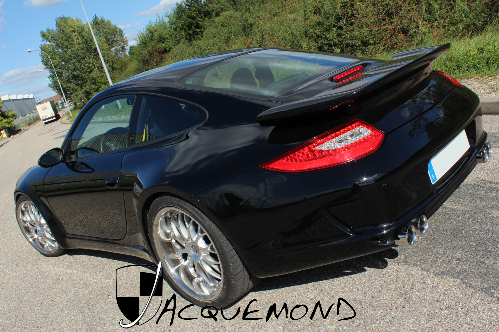wide body kit for Porsche 996 Mk1 Mk2,  997 style by Jacquemond