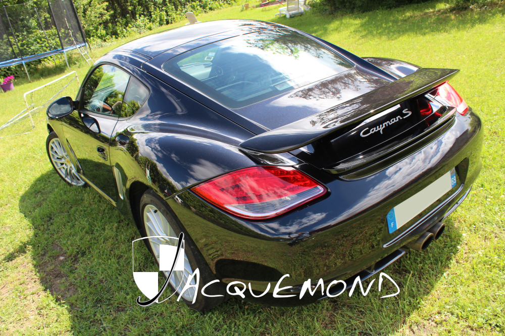 St Tropez rear wing spoiler for Porsche Cayman 987 Mk1, Mk2 by Jacquemond