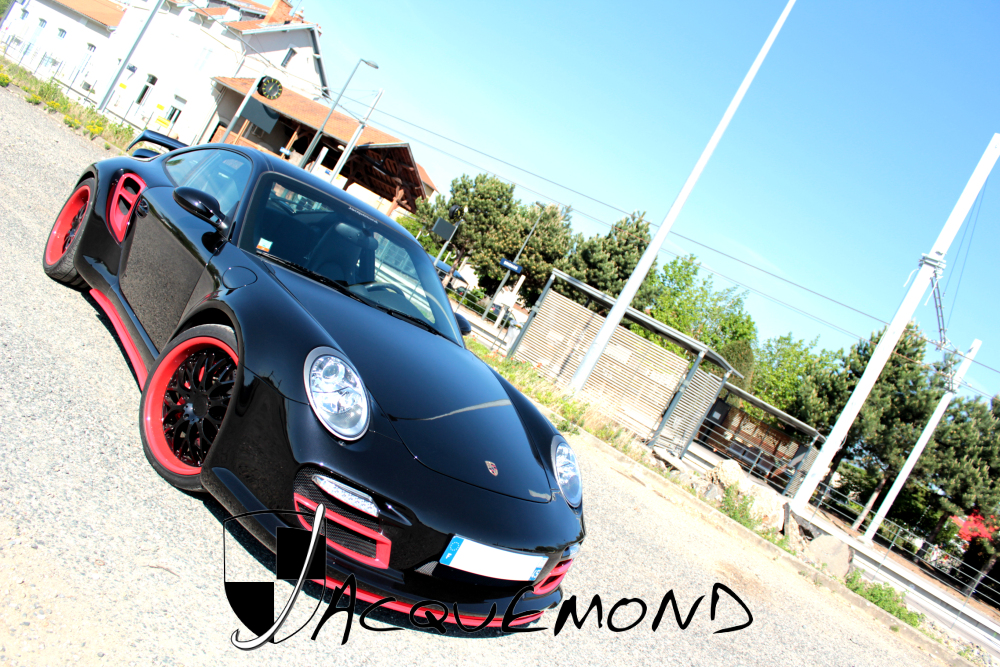 wide body kit for Porsche 997 Turbo by Jacquemond