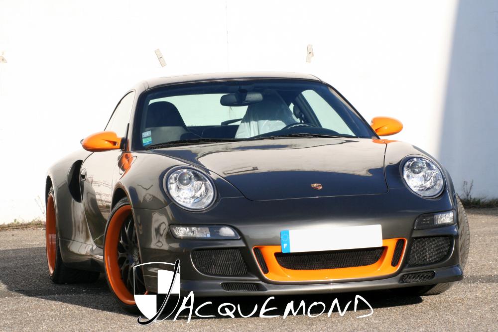 Porsche 996 Turbo wide body set by Jacquemond