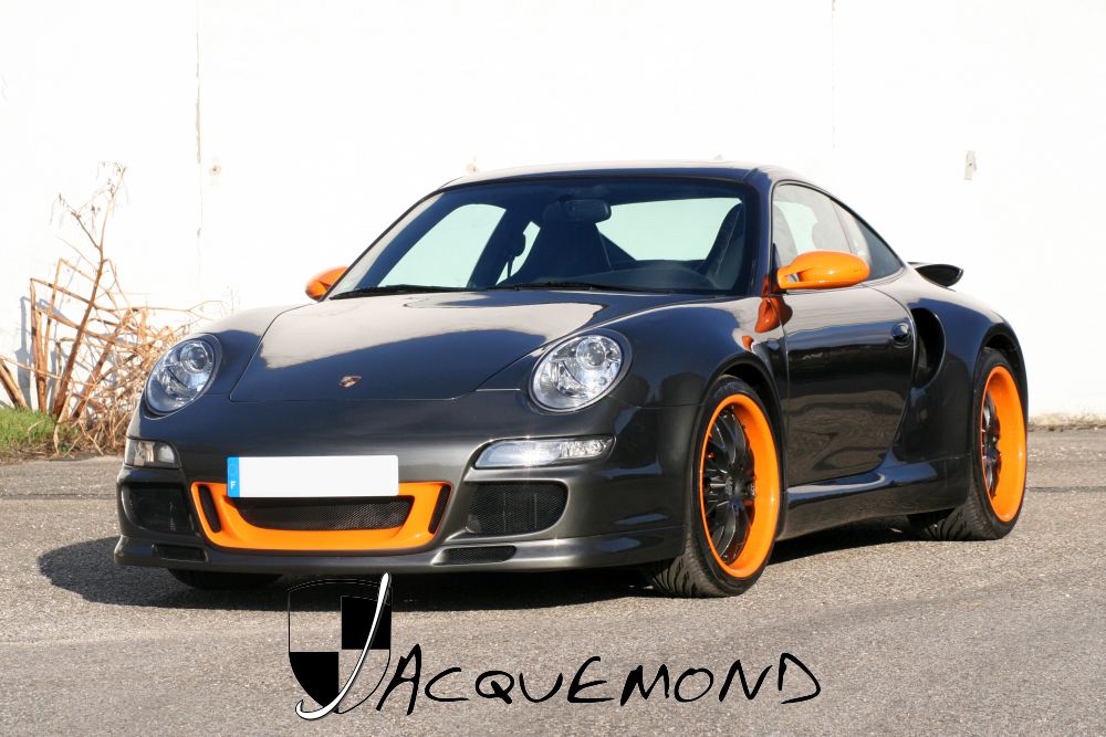 Porsche 996 Turbo wide body set by Jacquemond