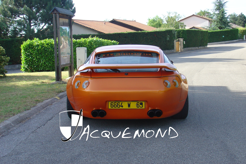 rear wing and wide body set for Porsche 928 Jacquemond