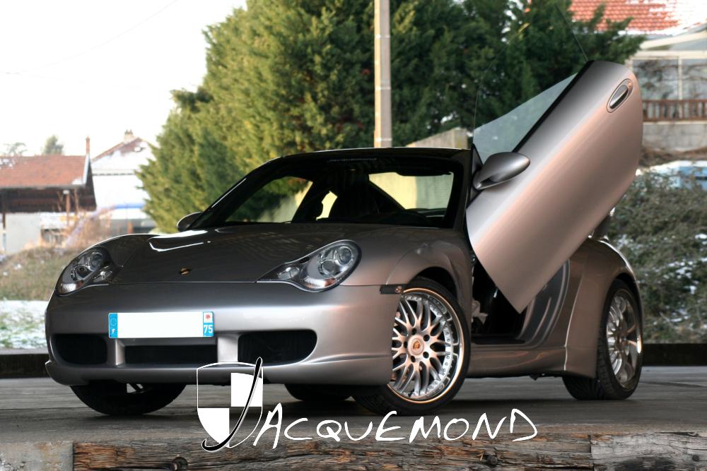 Porsche 996 : wide body set by Jacquemond