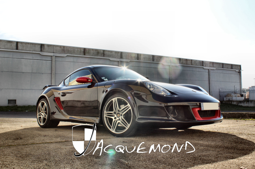 Porsche 987 Cayman : wide body set by Jacquemond