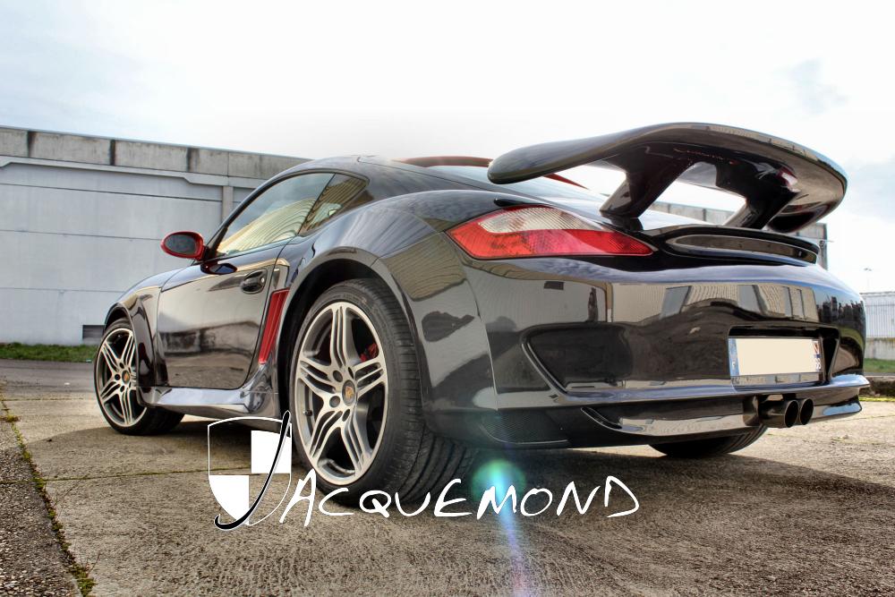 Porsche 987 Cayman : wide body set by Jacquemond