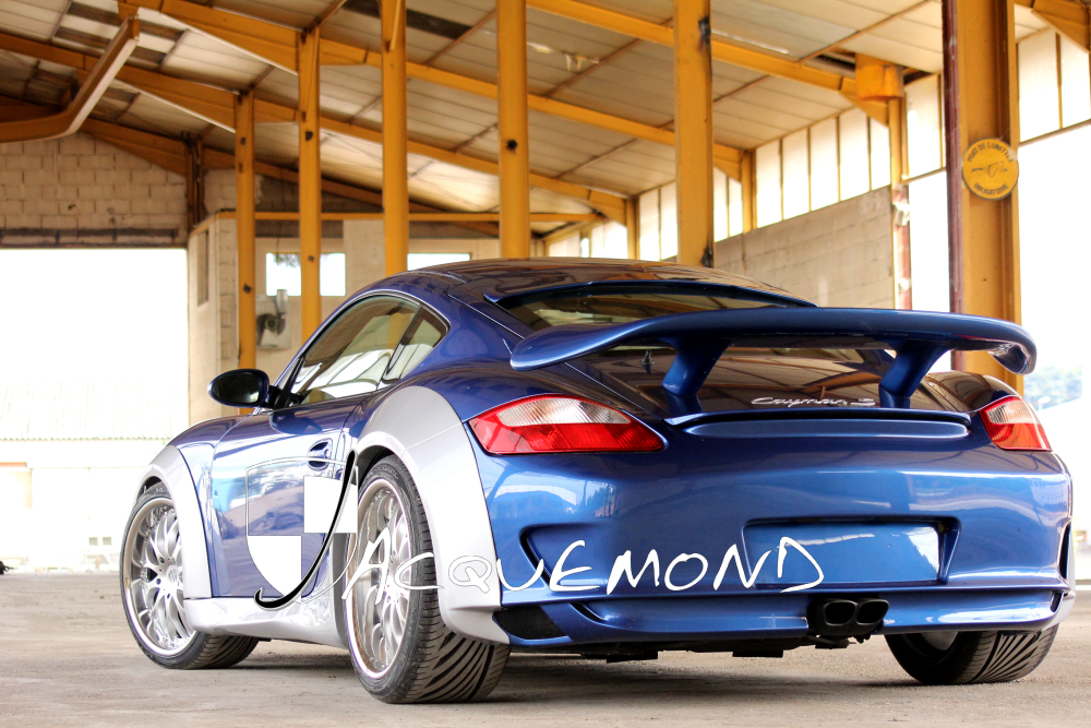wide body set for Porsche Cayman 987 by Jacquemond