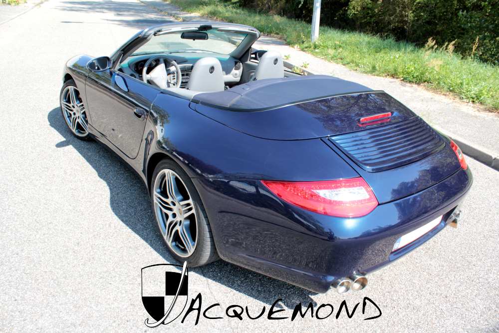 wide body set for Porsche 996 by Jacquemond