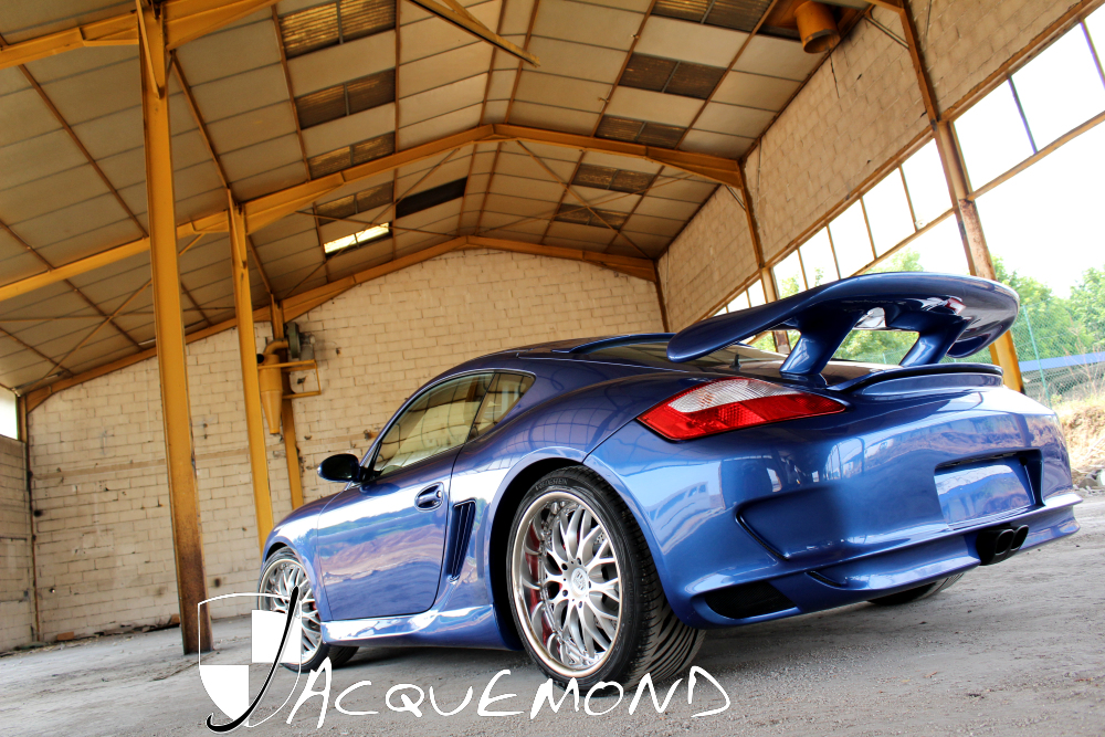 body set for Porsche 987 Cayman by Jacquemond