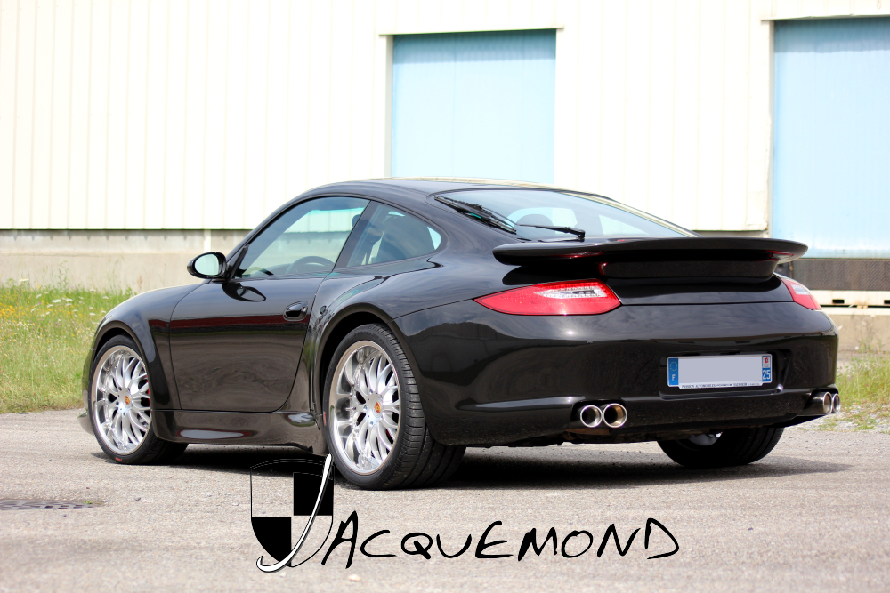 wide body set for Porsche 996 997 style by Jacquemond