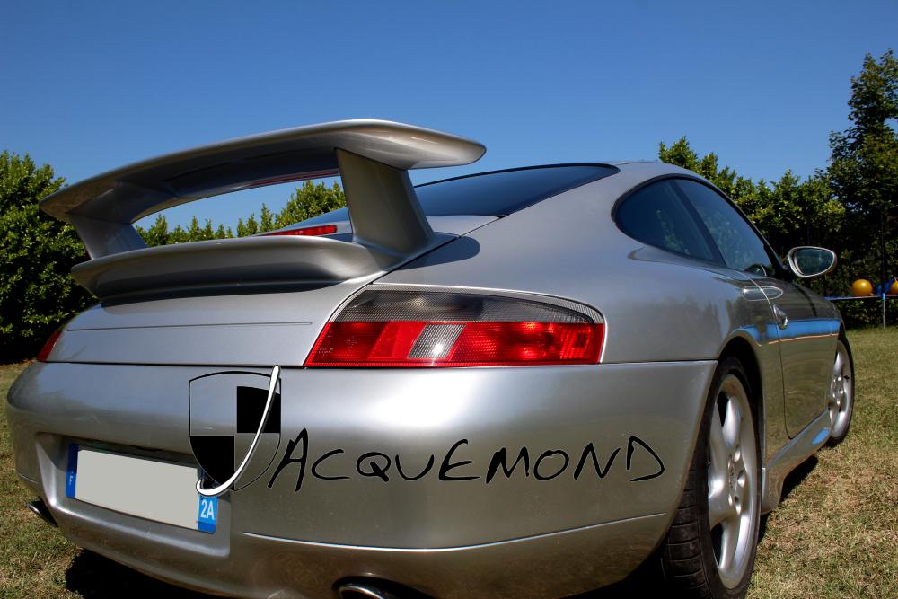 Porsche 996 GT3 Mk2  rear wing spoiler by Jacquemond
