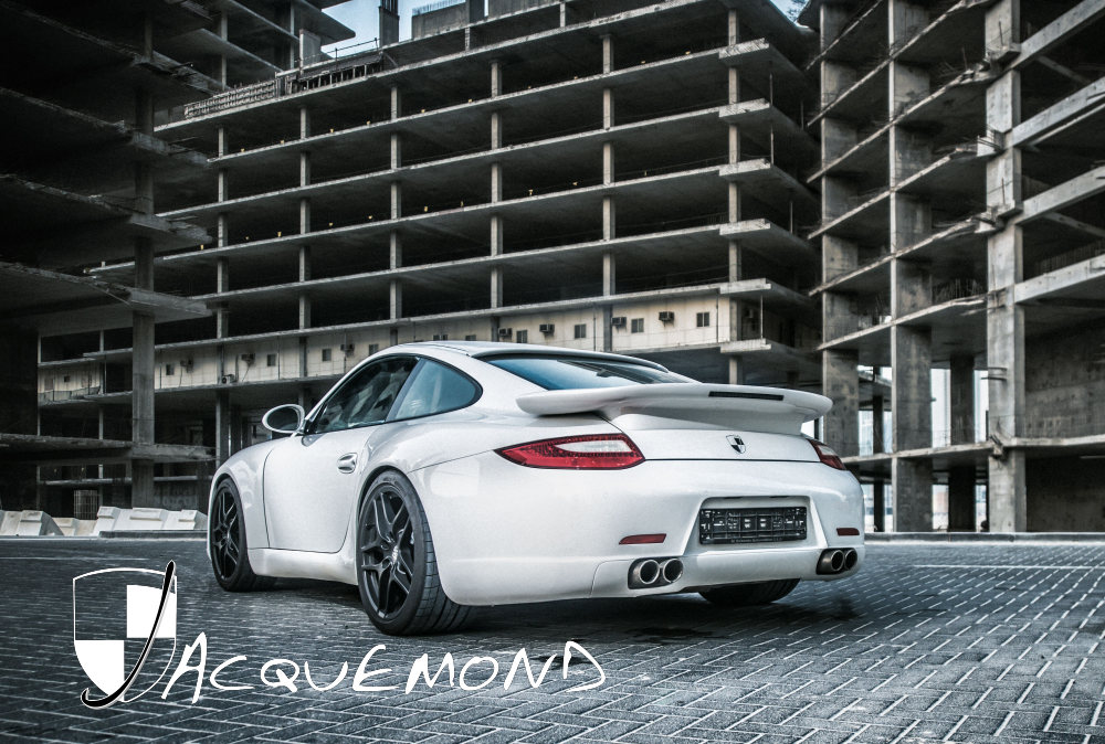 widebody kit for Porsche 997 Jacquemond