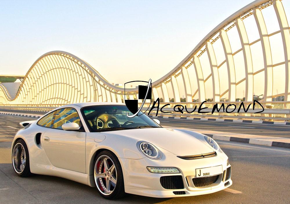 Porsche 996 Turbo : wide body set by Jacquemond