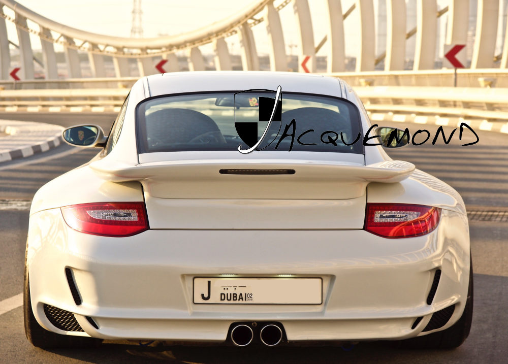 Porsche 996 Turbo : wide body set by Jacquemond