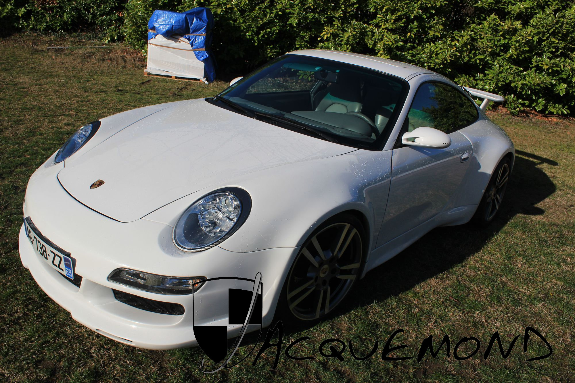 wide body kit for Porsche 996 by Jacquemond