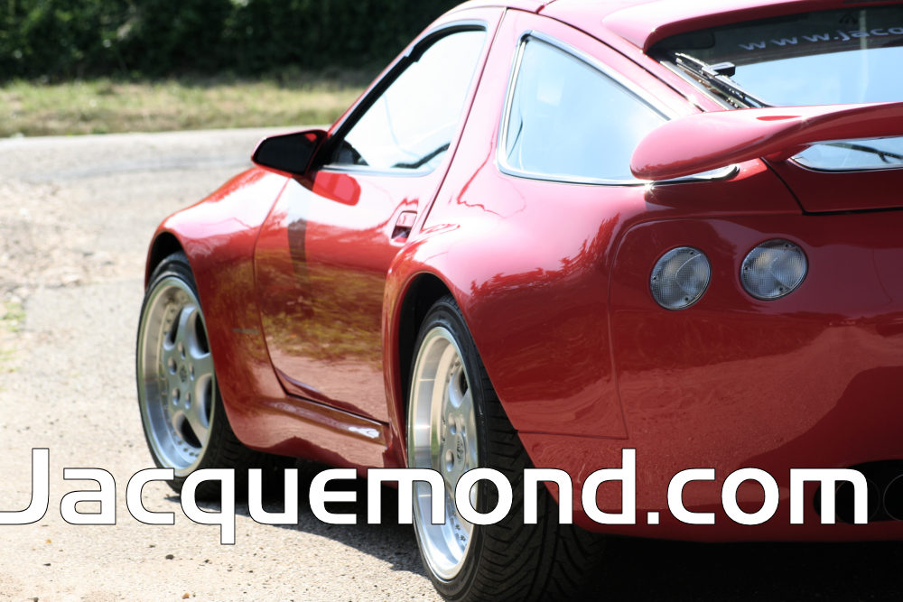 wide body kit for Porsche 928 by Jacquemond