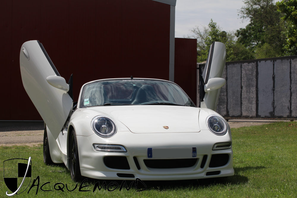 wide body kit for Porsche 986 Boxster by Jacquemond