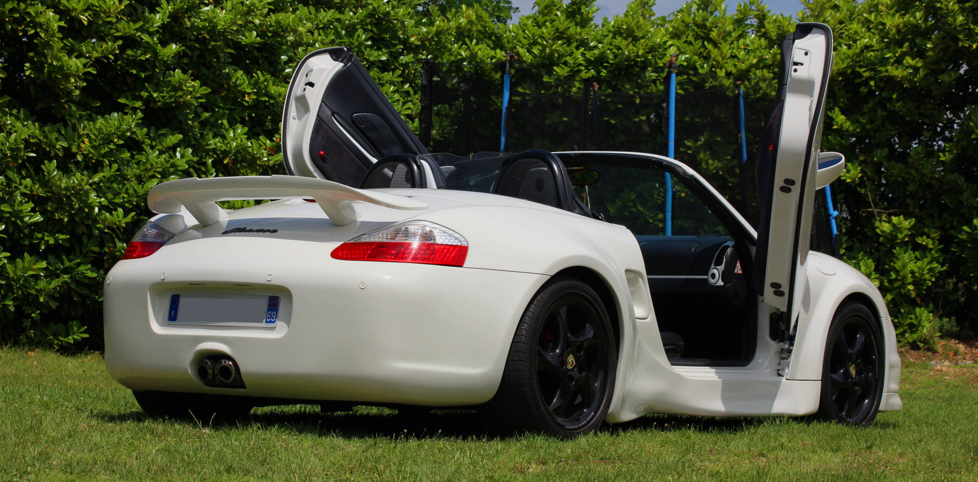 wide body kit for Porsche Boxster 986 by Jacquemond