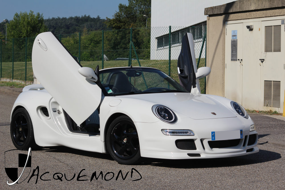 widebody kit for Porsche Boxster 986 by Jacquemond