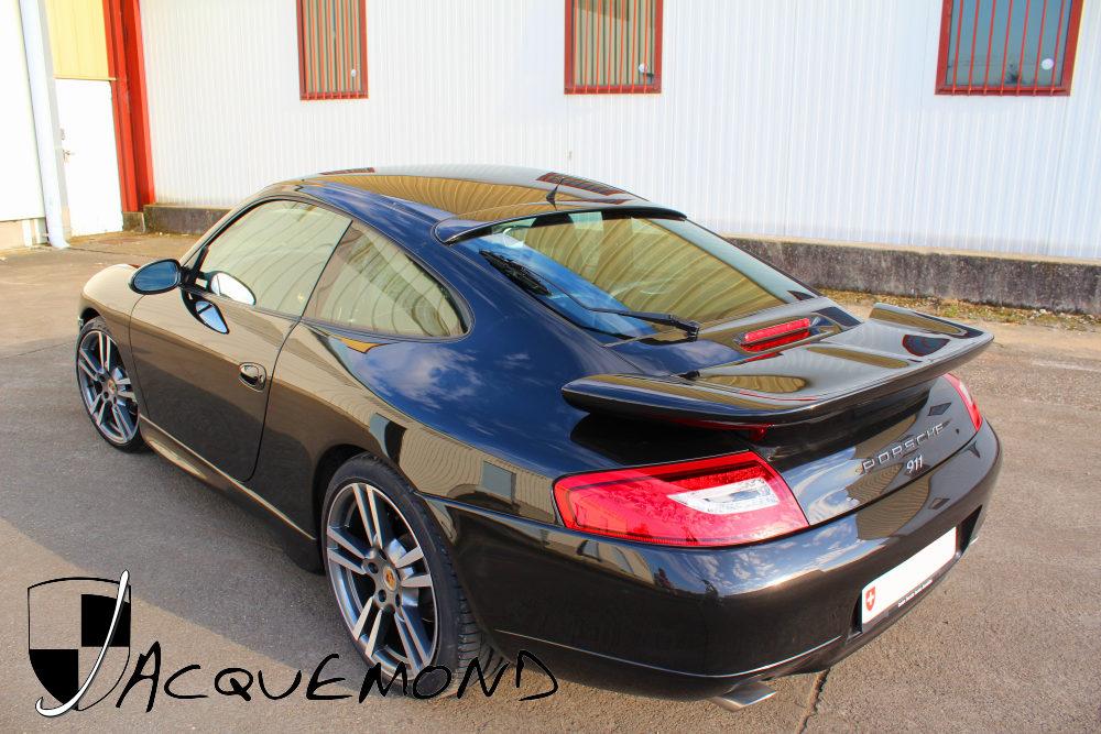 Porsche 996 Mk1 Mk2  rear wing spoiler by Jacquemond
