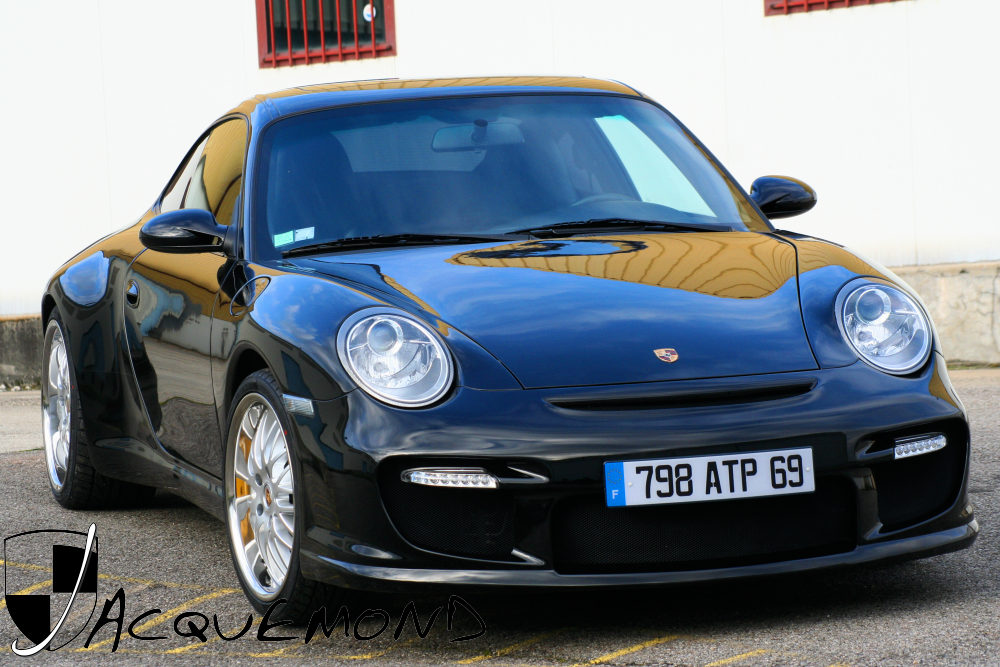 997 GT2 front facelift body kit for Porsche 996 by Jacquemond