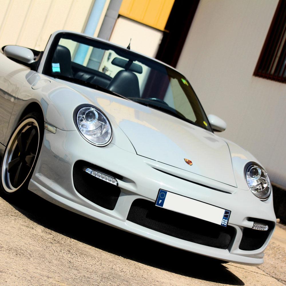 997 GT2 front facelift body kit for Porsche 996 by Jacquemond