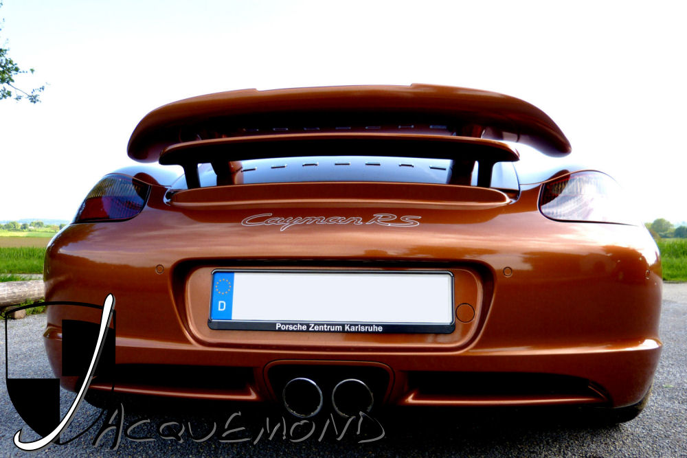Fabio rear wing spoiler for Porsche Cayman 987 by Jacquemond.com