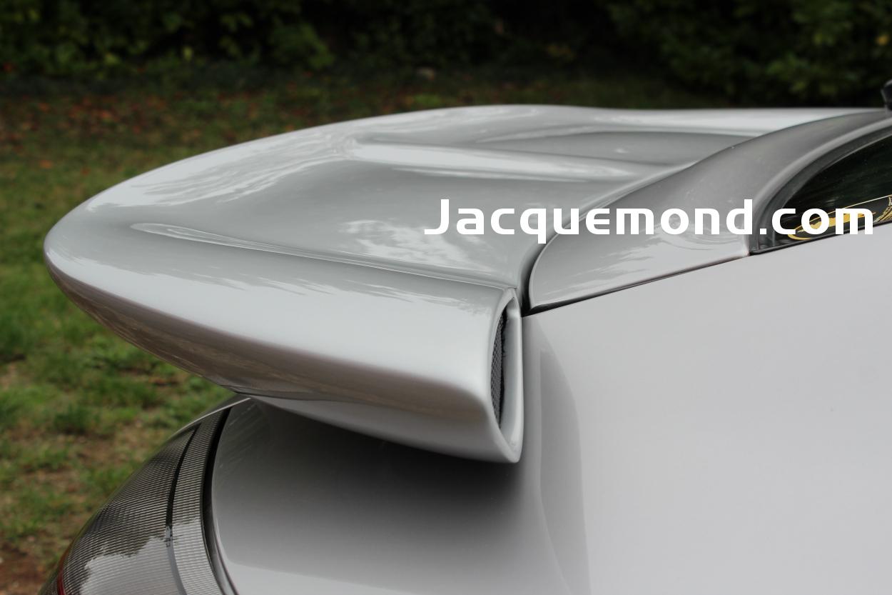 Darus rear wing spoiler for Porsche 996 by Jacquemond, aileron arrière
