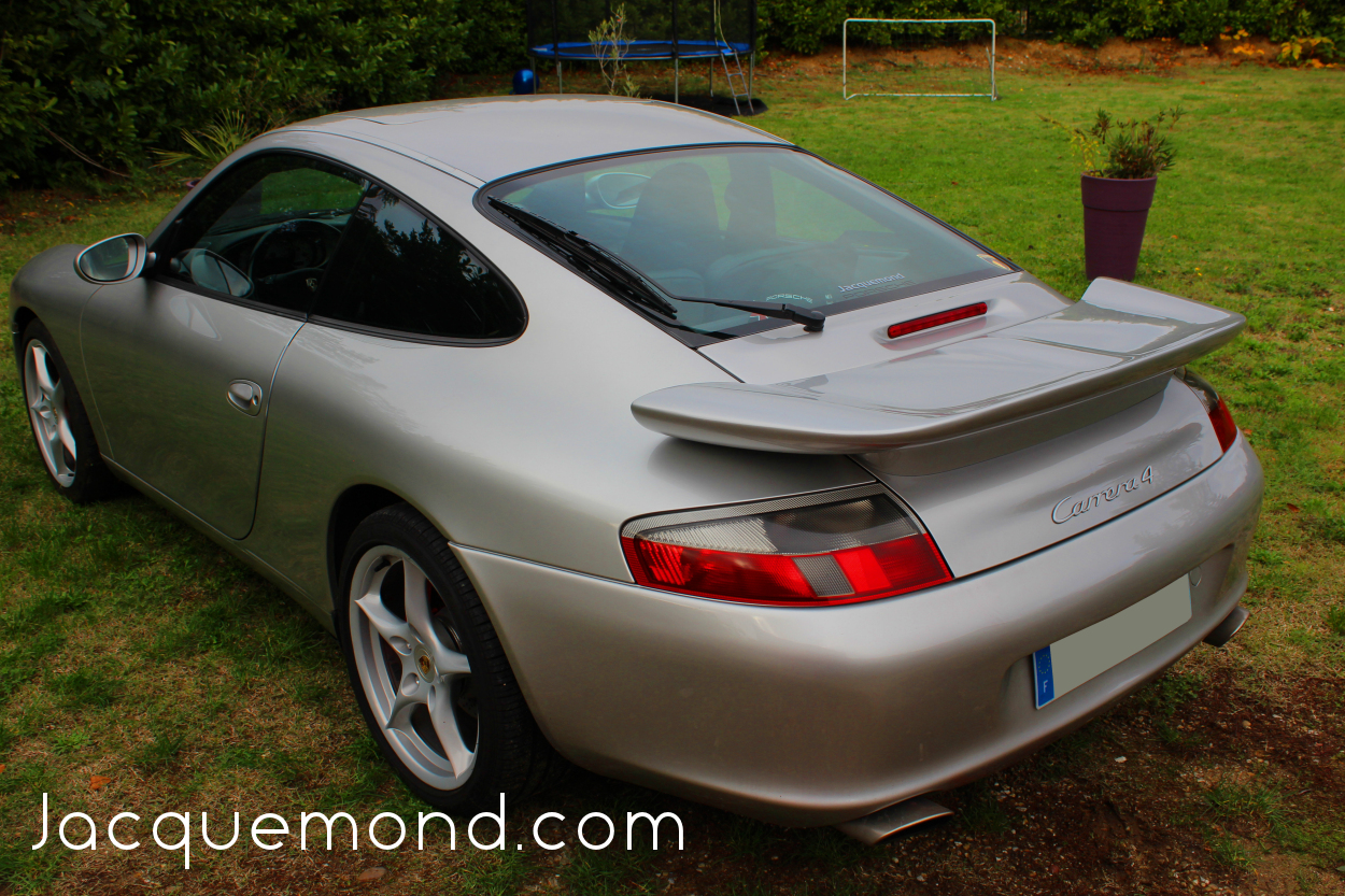darus rear wing for Porsche 996 by Jacquemond