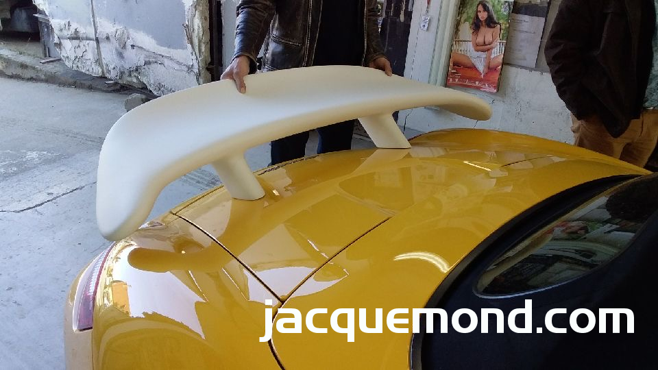 Rear wing for Porsche 987 Boxster by Jacquemond