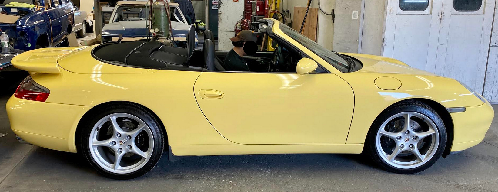 Darus rear wing spoiler for Porsche 996 by Jacquemond
