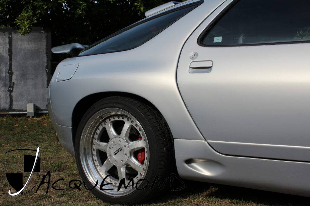 Porsche 928 rear wide fender flares, side skirts by Jacquemond