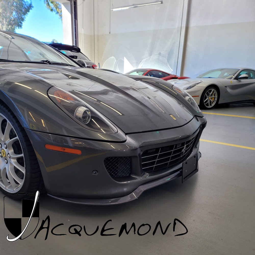 Front spoiler lip for Ferrari 599 GTO Style by Jacquemond