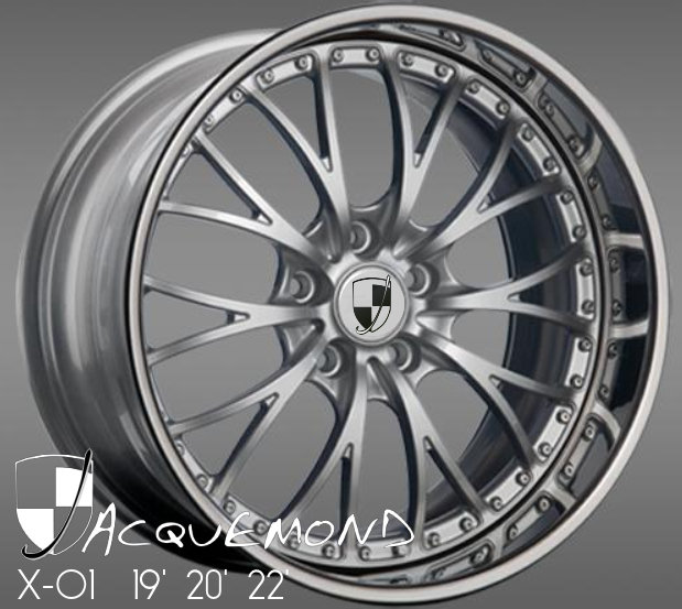 3 piece rims for Porsche 997 by Jacquemond