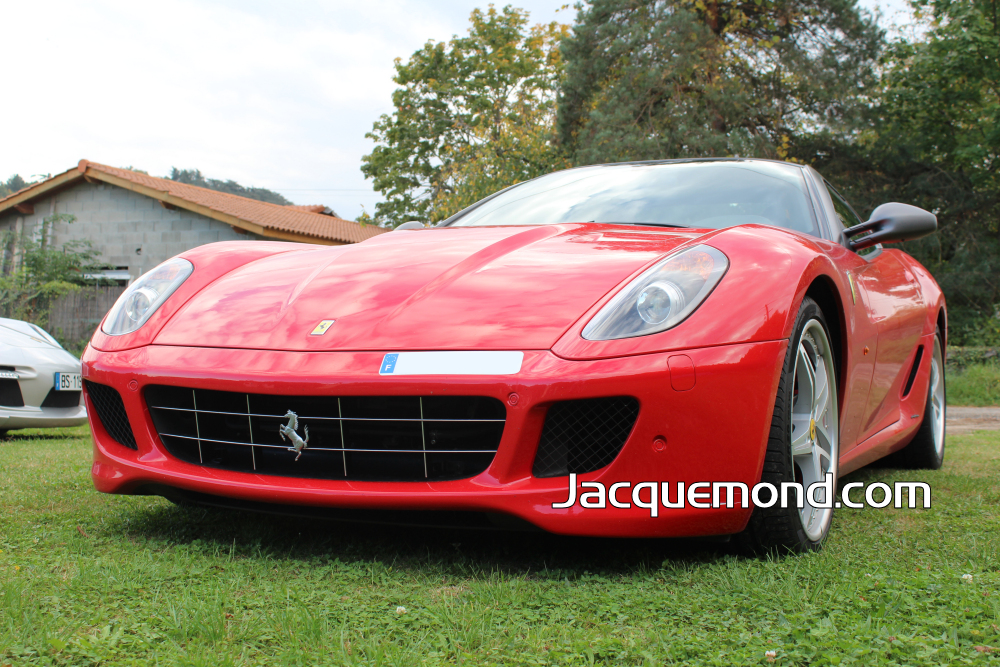 Front bumper for Ferrari 599 by Jacquemond. ( racing light weight )
