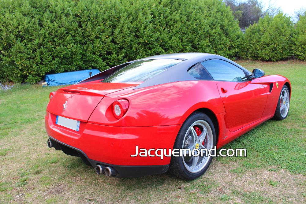 Rear bumper for Ferrari 599 by Jacquemond. ( racing light weight )