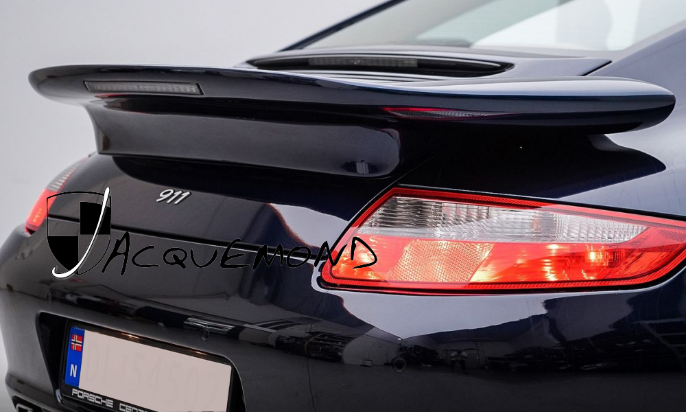 Darus rear wing for Porsche 997 by Jacquemond.